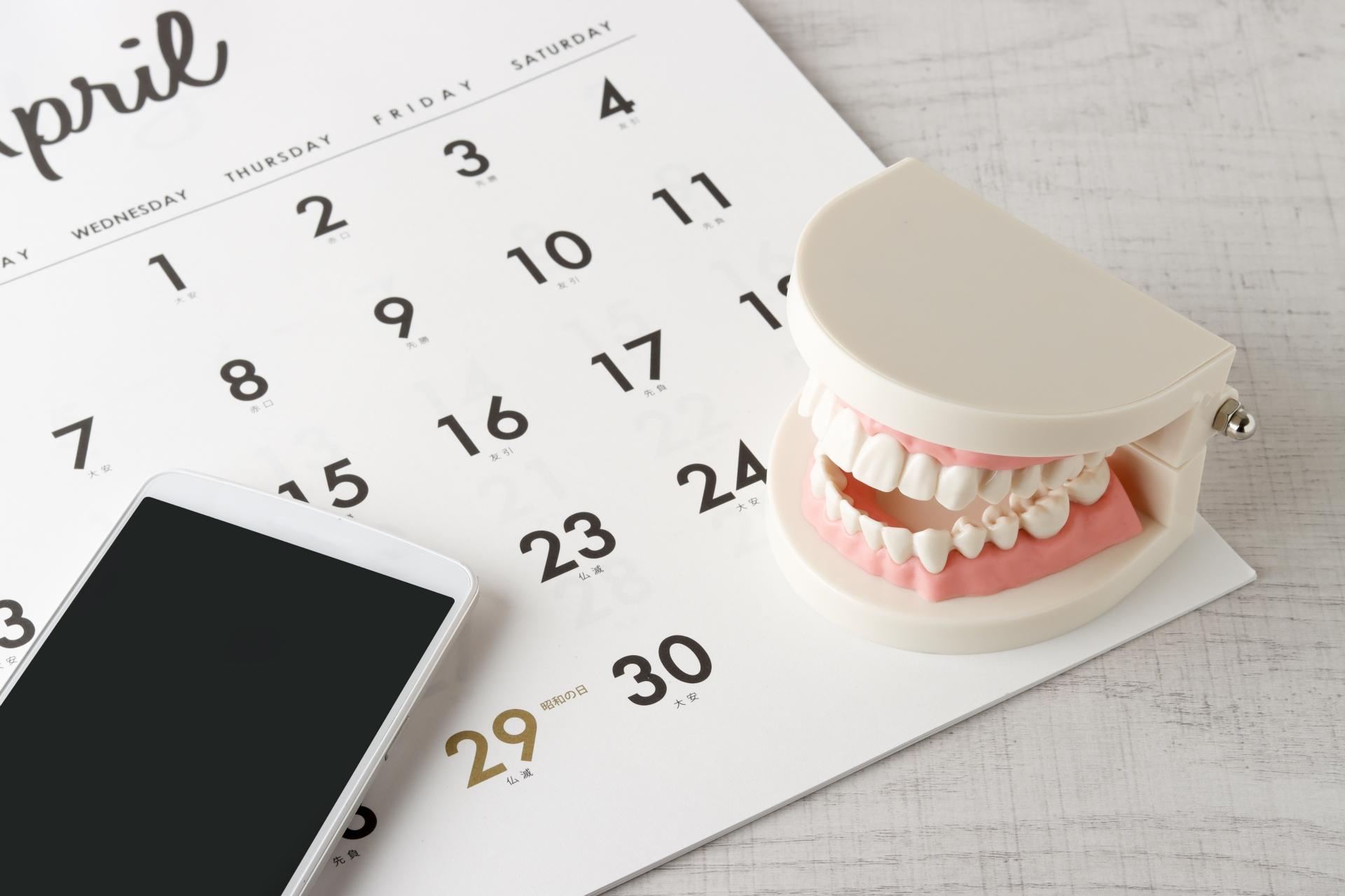 インプラントする場合の抜歯をする時期は?